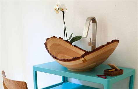 wooden designs 10 stylish bowl sink designs for the bathroom
