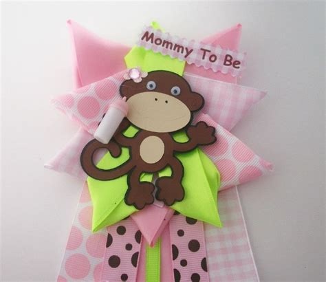 Pink Monkey Baby Shower Decorations by 64 Best Images About Baby Shower Ideas Monkey Theme On