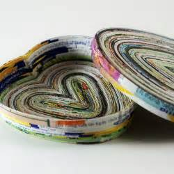 Recycled Magazine Paper Crafts - recycled magazine page craft everything