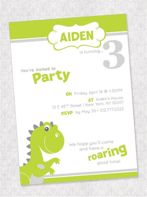 dinosaur birthday card template dinosaur invitations ideas dinosaurs pictures and facts