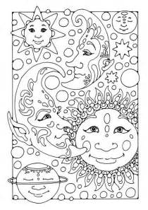 moon coloring pages for adults difficult coloring pages for adults coloring page sun