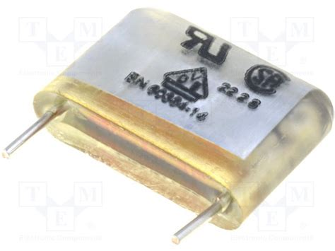 capacitor wima mp3 x2 mpx21w3220fi00mssd wima capacitor paper tme electronic components wfs