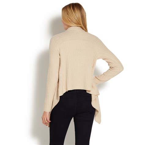 drape front sweater cable drape front sweater shoedazzle