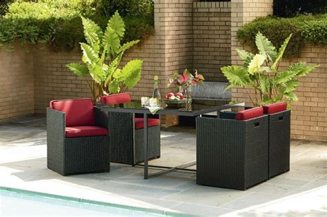 patio furniture for small patio small space patio furniture sets for home decor ideas
