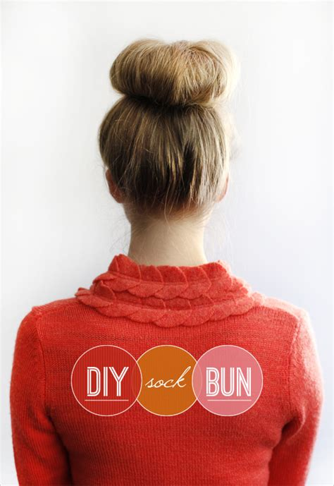 diy sock bun for hair 10 beautiful hair bun tutorials artzycreations