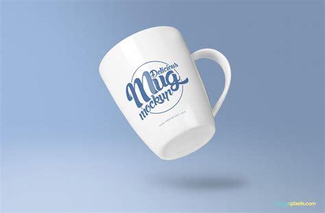 Free Coffee Mug Mockup PSD's   ZippyPixels
