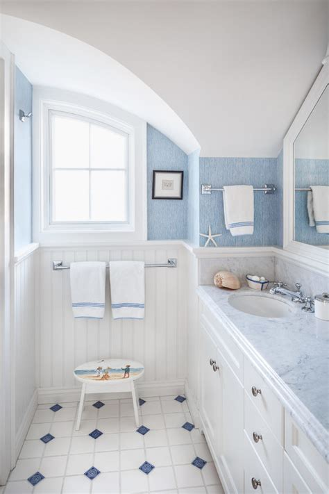 beach house bathroom ideas bathroom designs that bring home the beach aol finance