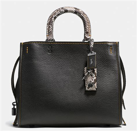 Coach B introducing the coach rogue bag now available for