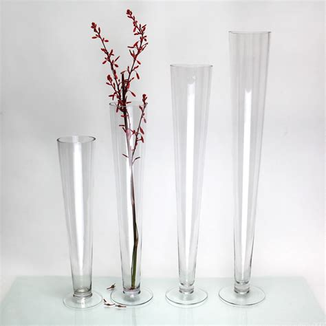 flower vases 20 quot tall wedding centerpieces glass vases