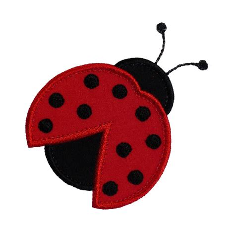Embroidery Design Ladybug | ladybug beetle appliques machine embroidery designs applique