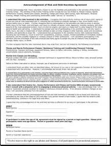 martial arts contract template liability waiver forms liability release form daycare1