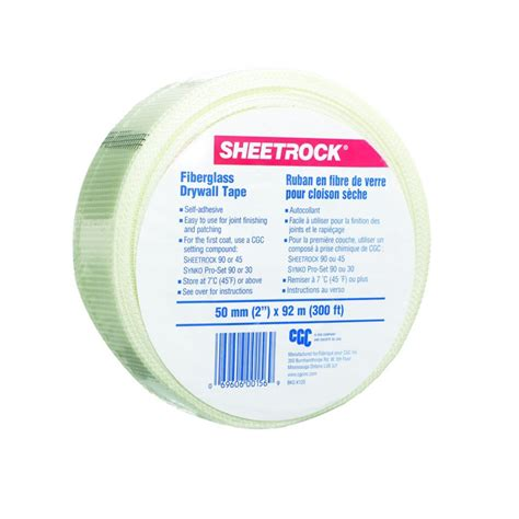 sheetrock fiberglass drywall 2 in x 300 ft roll