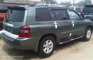 Used Cars For Sale In Nigeria With Prices 2004 Toyota Highlander Option Used Car For Sale In