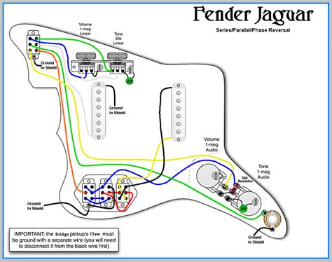 fender jaguar wiring diagram gooddy org