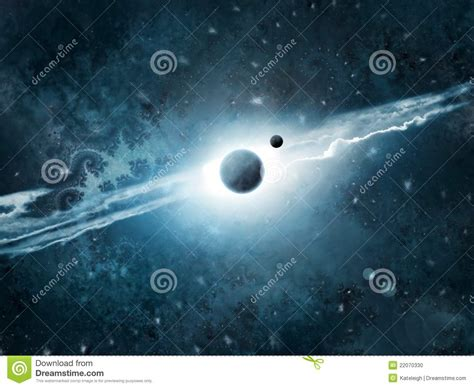 cosmos space art stock illustration illustration