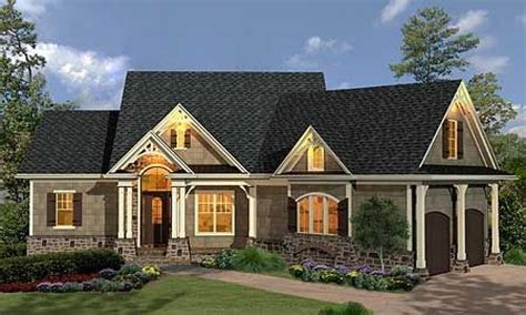 craftsman style ranch house plans craftsman style homes
