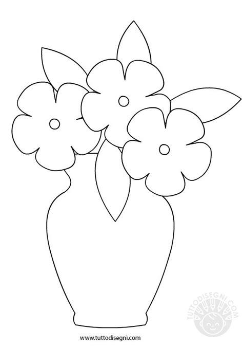 vaso con fiori vaso con fiori in bianco e nero tuttodisegni