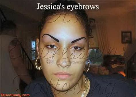 eyebrows tattoofunny funny tattoo pictures browvo 5451853