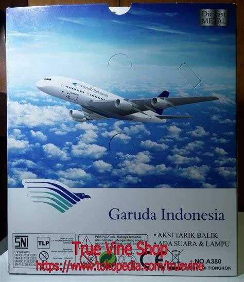 Mainan Anak Murah Pesawat Garuda Indonesia C 014026 jual die cast diecast pesawat terbang garuda indonesia true vine shop