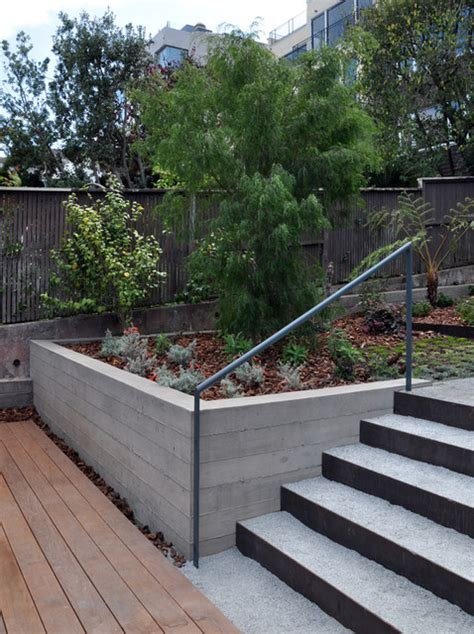 modern retaining wall ideas retaining wall