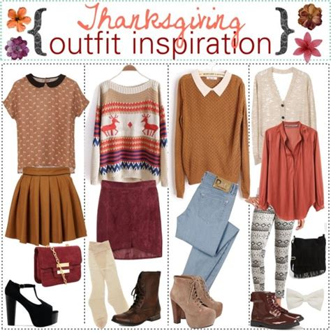 Thanksgiving Wardrobe by Quot Thanksgiving Inspiration Quot By Xoashleyyxo Liked On