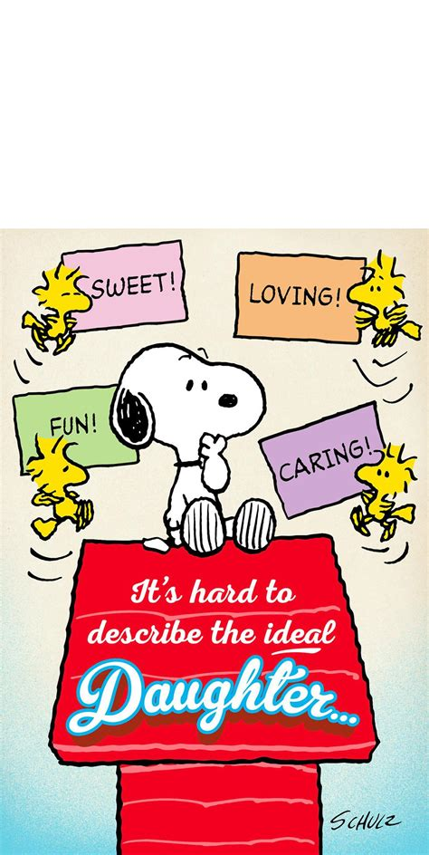snoopy cards peanuts 174 snoopy and woodstock s day card for