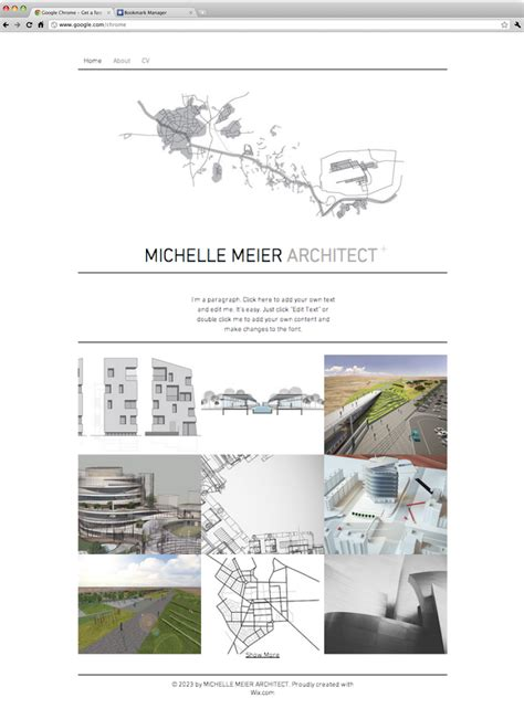 Architect Portfolio Website Template Wix Website Wix Directory Template