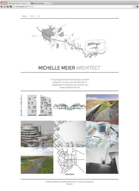 Architect Portfolio Website Template Wix Website Templates Pinterest Portfolio Website Wix Directory Template