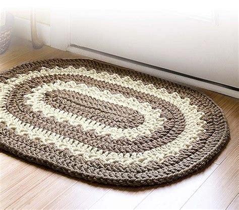 Crochet Oval Rug Pattern by 25 Best Ideas About Crochet Rugs On Crochet