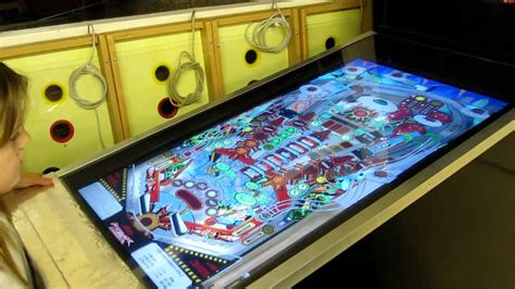 Visual Pinball Tables Scott S Full Size Visual Pinball Table Attack From Mars