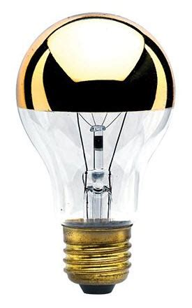 Half Gold Light Bulbs Shop Great Prices And Selection
