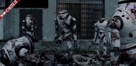 film zombie robot des robots contre une invasion de zombies battle of the