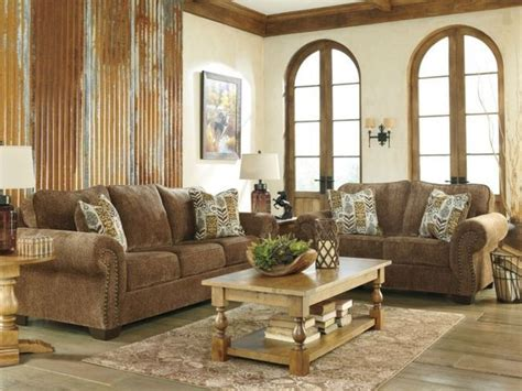 old world living room furniture watford old world brown chenille sofa couch loveseat set