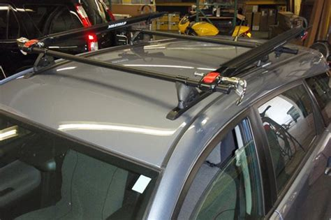 toyota matrix rack installation photos