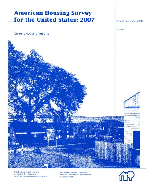 American Housing Survey by American Housing Survey For The United States 2007 U S Government Bookstore