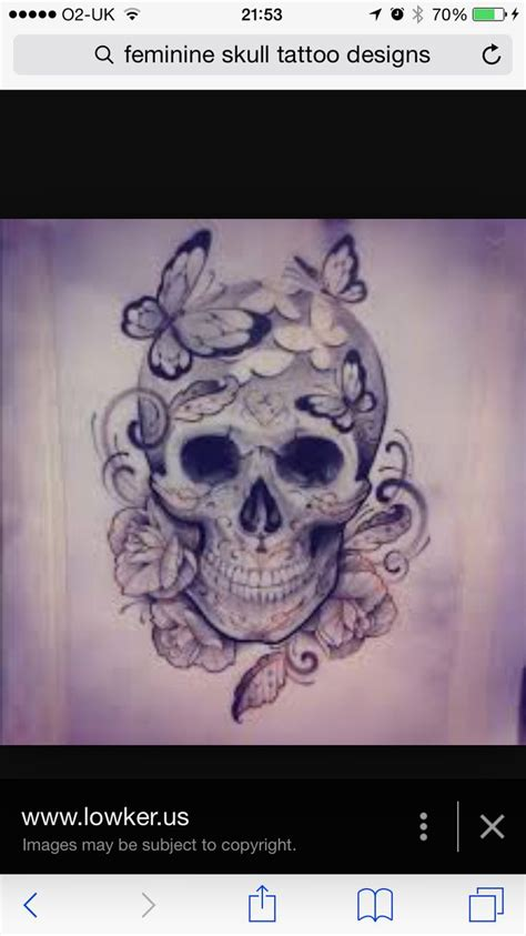 tattoo feminine designs best 25 feminine skull tattoos ideas on