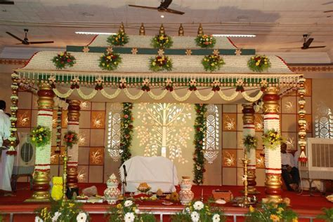 south indian wedding decoration   Google Search