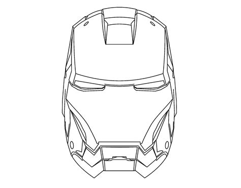 Iron Man The Avengers Best Coloring Pages Minister Iron Black And White Coloring Pages