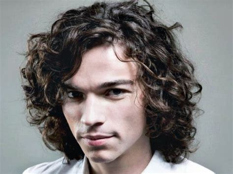 hairstyles for long curly hair male mens long wavy hairstyles fade haircut