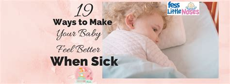 ways    baby feel   sick stay