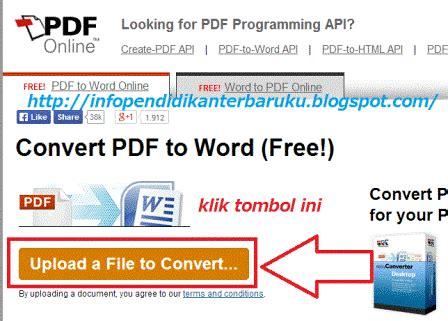 convert pdf to word tutorial siap wacana 187 cara edit file pdf formulir sekolah pd dan