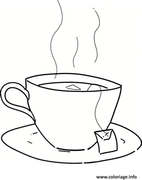 coloriage tasse de the jecolorie com