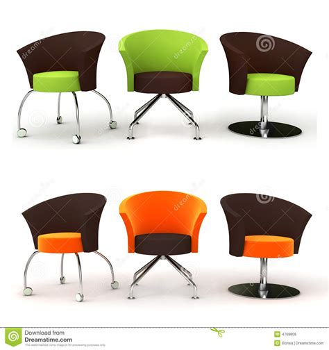 Black Bar Stool Chairs Funny Chairs Royalty Free Stock Image Image 4768806