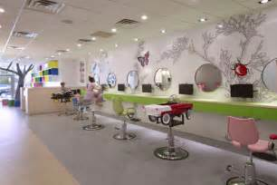 how to decorate a small salon colorful nature inspired hair salon for in new york