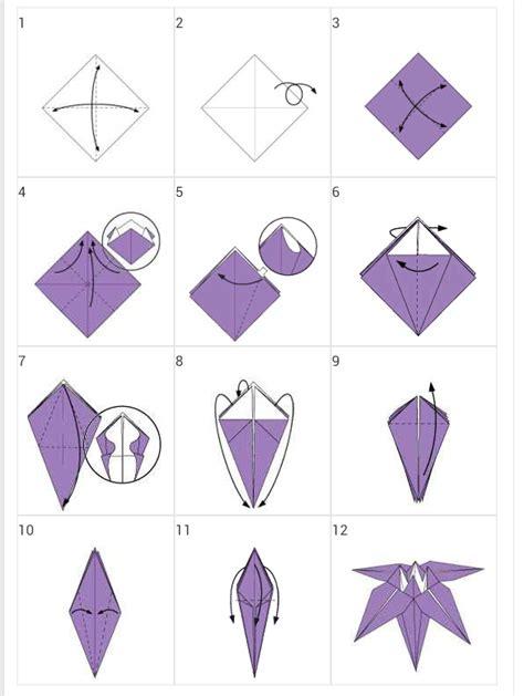 Cara Cara Membuat Origami - cara membuat origami flower comot