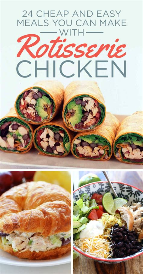 think amazing things 24 easy meals you can make with