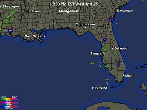 florida weather map florida weather doppler radar loop