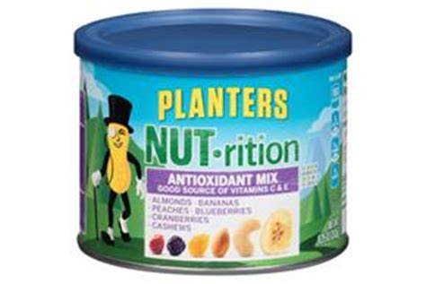 Planters Antioxidant Mix by Planters Nut Rition Wholesome Nut Mix 11 5 Oz Kraft Recipes