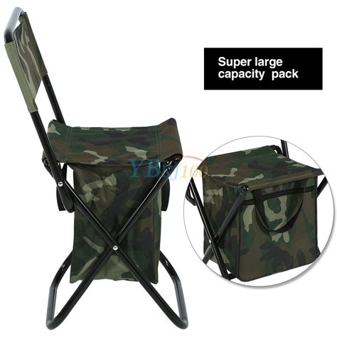Backpack C Stool Cooler by 2 In 1 Folding Fishing Stool Backpack Seat Chair