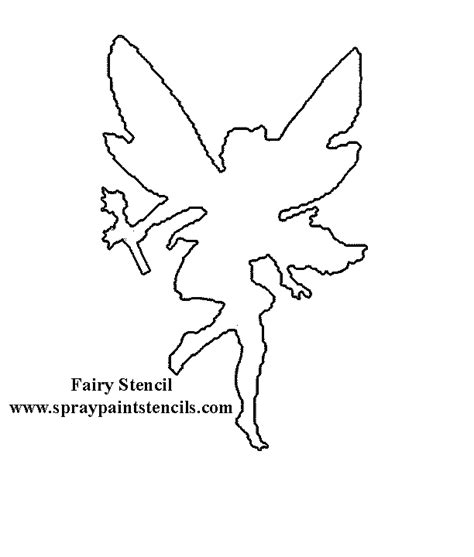fairy outline template www pixshark com images